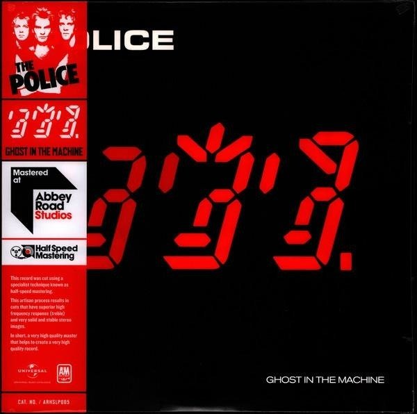 POLICE GhOST In The Machine LP