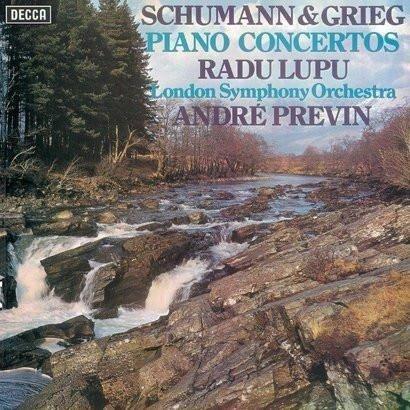 RADU LUPU Schumann & Grieg Piano Concertos LP