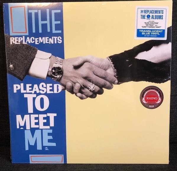REPLACEMENTS, THE Pleased To Meet Me LP