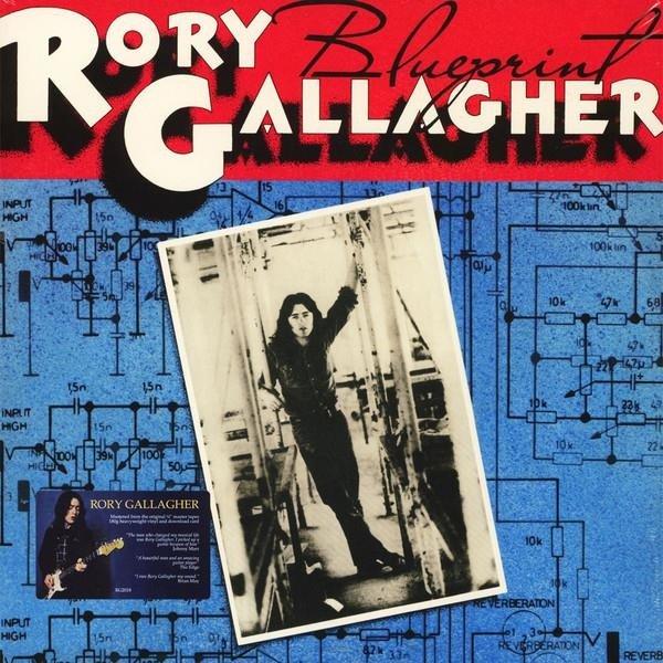 RORY GALLAGHER Blueprint LP