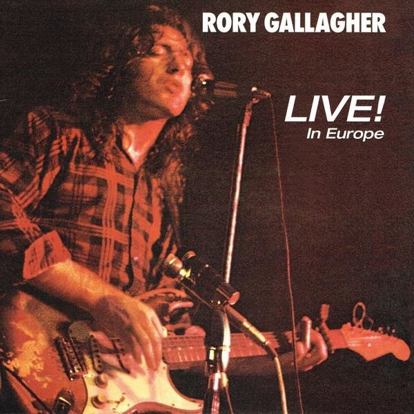 RORY GALLAGHER Live! In Europe LP