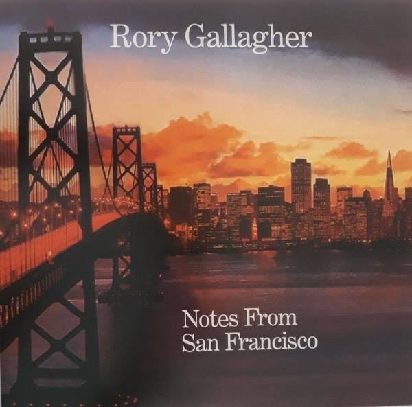 RORY GALLAGHER Notes From San Francisco LP