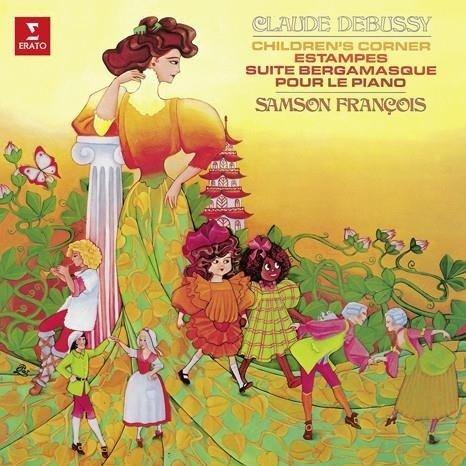 SAMSON FRANCOIS Debussy: Children's Corner, Estampes, Suite Bergamasque, Pour Le Piano LP