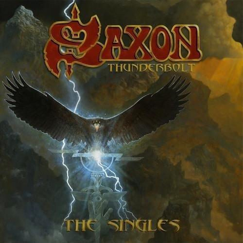 SAXON Thunderbolt VINYL SINGLE