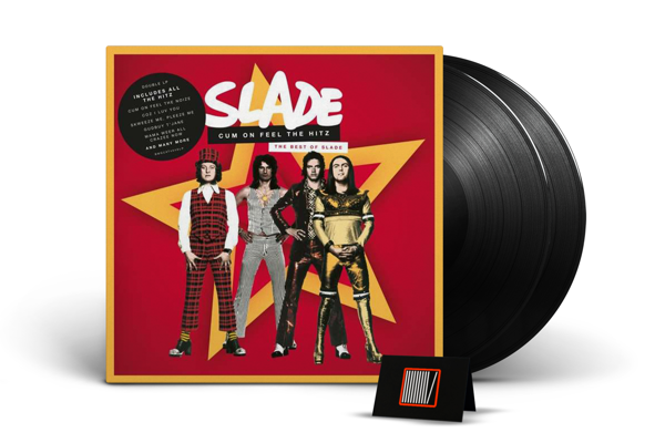 SLADE Cum On Feel The Hitz: The Best Of Slade 2LP