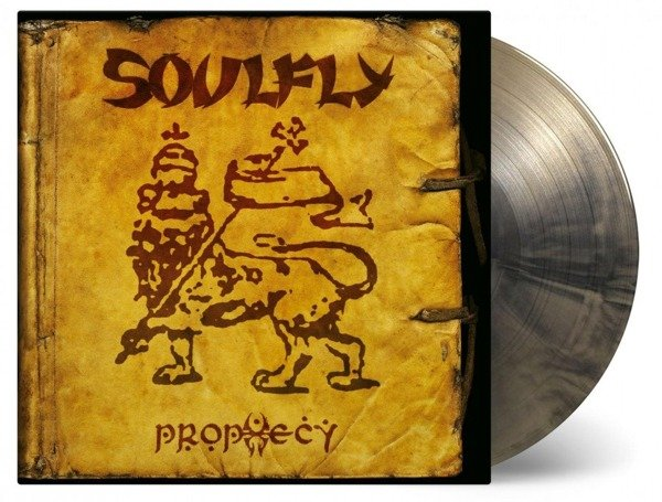 SOULFLY Prophecy 2LP (Gold & Black Mixed Vinyl)