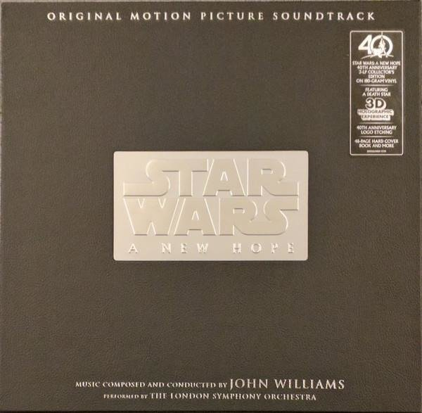 SOUNDTRACK DISNEY Star Wars: A New Hope LTD  3LP