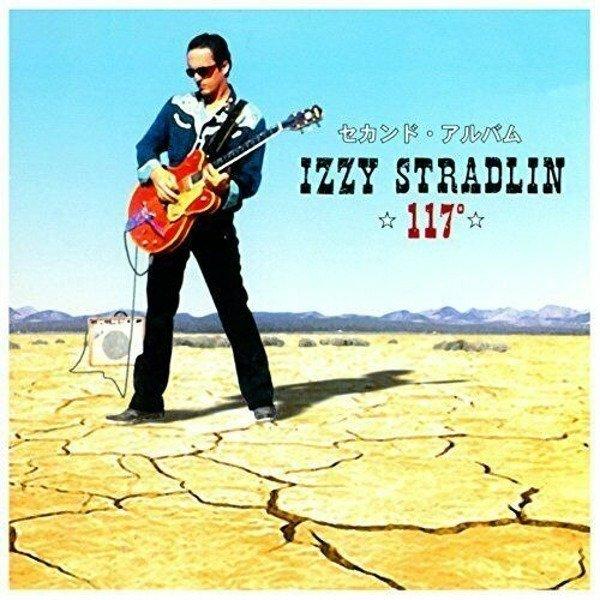 STRADLIN, IZZY 117 Degrees LP BLUE MARBLED