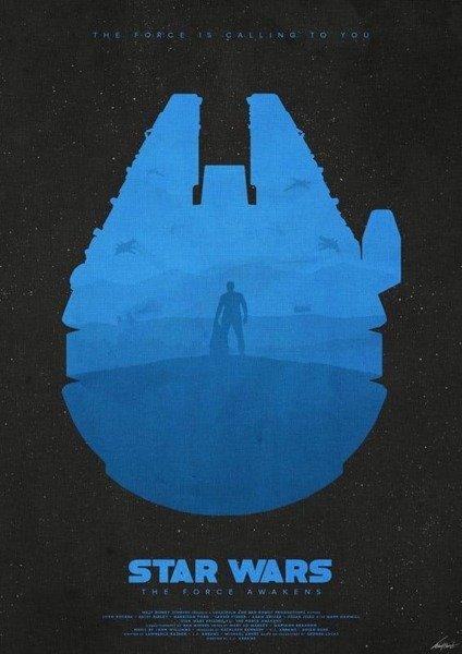 Star Wars: The Force Awakens PLAKAT