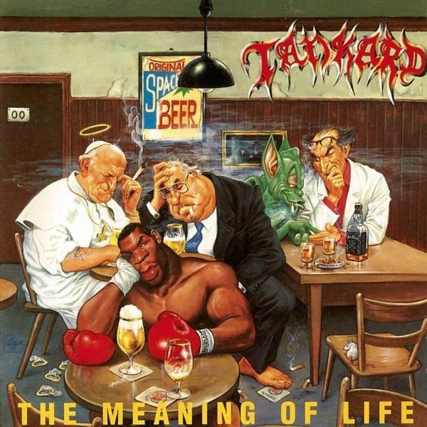 TANKARD The Meaning Of Life LP