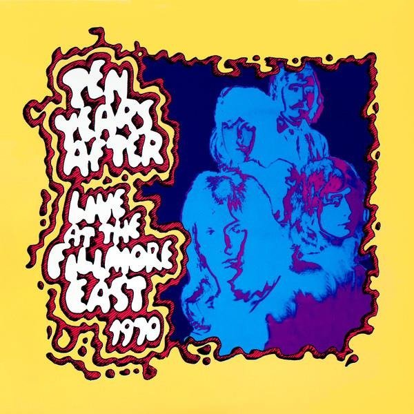 TEN YEARS AFTER Live At The Fillmore East 3LP