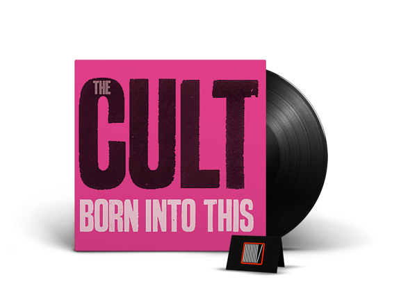 THE CULT Born Into This LP Limited Coloured