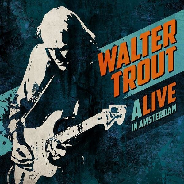 TROUT, WALTER Alive In Amsterdam 3LP