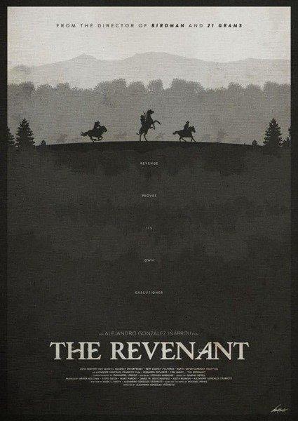 The Revenant PLAKAT