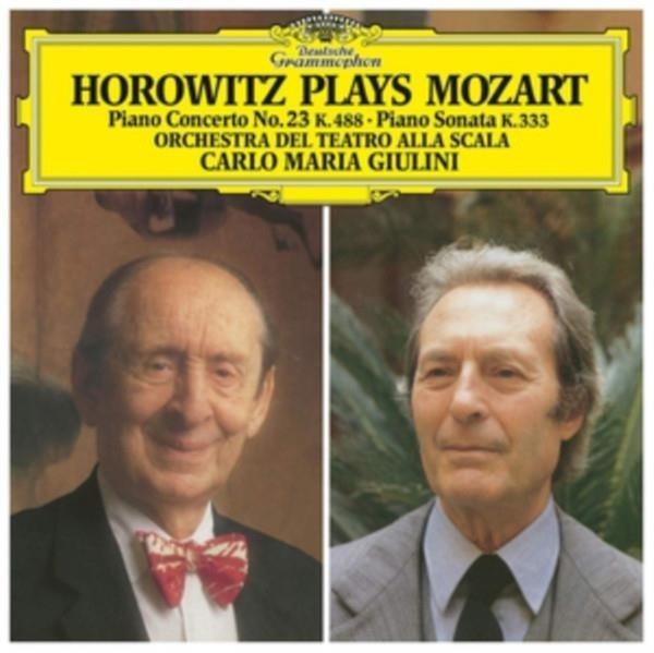 VLADIMIR HOROWITZ Horowitz Plays Mozart LP
