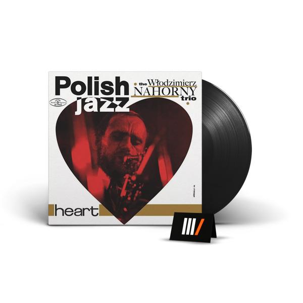 WLODZIMIERZ NAHORNY TRIO Heart LP POLISH JAZZ