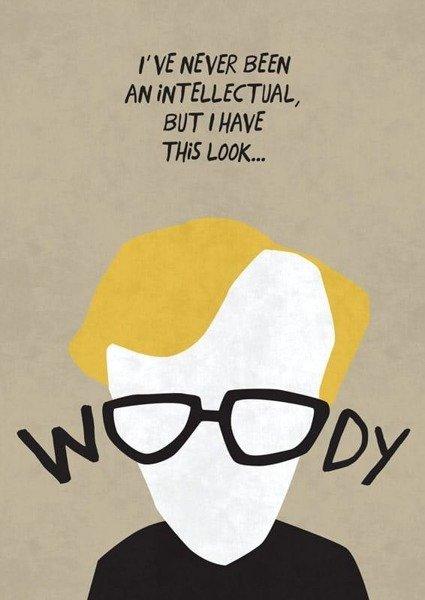 Woody Allen PLAKAT