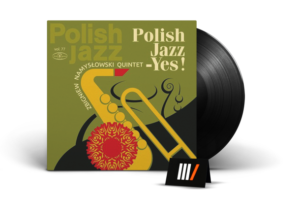 ZBIGNIEW NAMYSLOWSKI QUINTET Polish Jazz - Yes! LP POLISH JAZZ